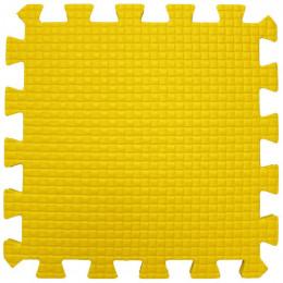 Мягкий пол 33*33*0,9 см желтый, 9 деталей