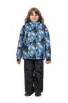 WP82205 GREY  Комбинезон зимний: куртка и брюки 86-100