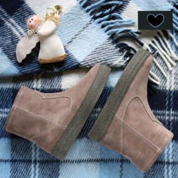 Замшевые мега удобные ботинки. New collection 17-18!
