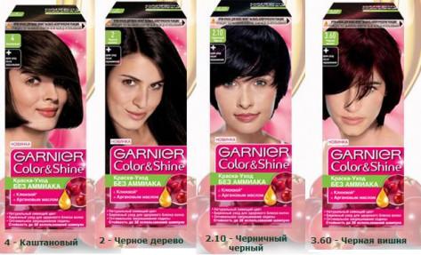 Краска для волос GARNIER Color Shine в ассортименте