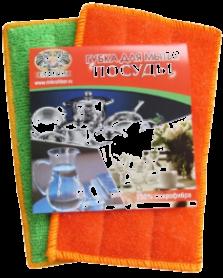 « Губка  для  мытья  посуды» из  микрофибры.Размер  11*12см.