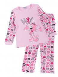 Пижама для девочки (футболка и брюки)