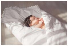 Конверт - одеяло для детей из 100% овечьей шерсти белый