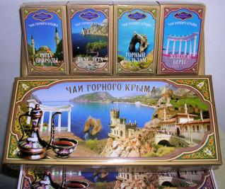 Набор «ЧАЙ ГОРНОГО Крыма» БРОНЗА 45г*4