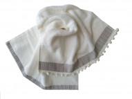 LENOX Полотенце 50х80 см, белое (100% хлопок)