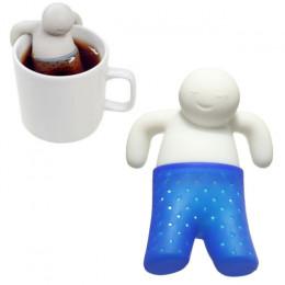 """Ситечко для чая """"Человечек"""", силиконовое"""