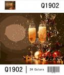 Картина по номерам 40*50 Новогодняя 2