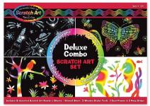 Melissa & Doug Deluxe Combo Scratch Art Set