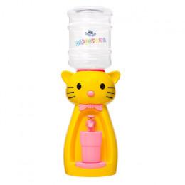 Детский кулер для воды кошка желтая Акваняня
