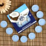 Набор свечей Карибский кокос (9 штук), горение 3,5 ч