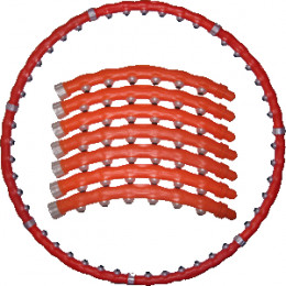 Массажный обруч Хулахуп Big Hoop Standard (Биг Хуп Стандарт)