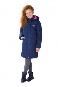 Демисезонное пальто утепленное PreMont для девочки