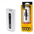 PowerBank Remax 5000 mAh белый