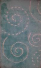 Maison Коврик 60*100 2 пр. акрил (голубой)