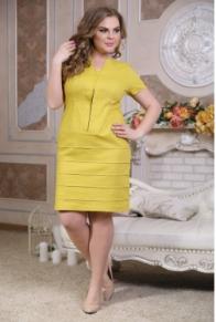 """Платье """"Ситара"""" горчица"""