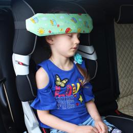 Фиксатор для головы ребенка в автокресле Автоняня Ежики