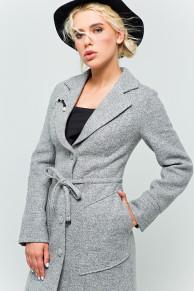 """Пальто с брошью """"Шерон"""""""