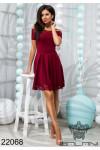 Платье с перфорацией - 22068