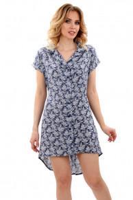 Рубашка-халат 42-119 Номер цвета: 735