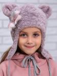 """Зимняя шапка для девочки """"Умка"""""""