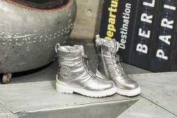 Дутики King Boots KB636SL Silber Серебро