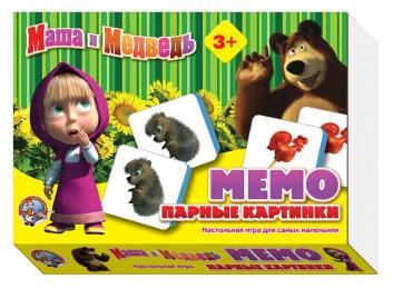 Парные картинки «Маша и Медведь» Арт: №00848