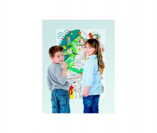Плакат-раскраска Волшебная Новогодняя История