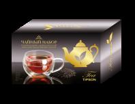 Чайный набор TIPSON «Кружка стеклянная с двойным дном и чай»