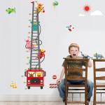 Наклейка многоразовая интерьерная «Пожарные»