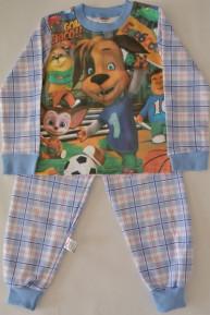 пижама барбоскины начес