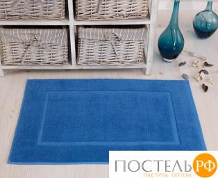 """2760 Коврик махровый """"KARNA"""" GREN (50x70) см 1/1 Голубой"""