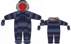 Комбинезон детский для мальчика  Nano зима 19-20 предзаказ!
