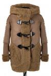 Пальто детское утепленное Искусственная дубленка