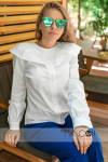 Рубашка с воланом