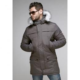 Куртка мужская зимняя 045 Nikolom серая (Белоруссия)