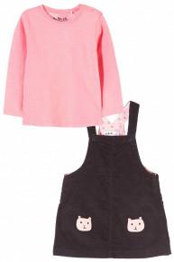 Komplet – bluzka + sukienka 5P3508
