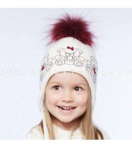 ШАПКА зимняя для девочки р50-52