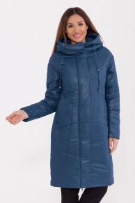 77239 Пальто (D'IMMA)Синий
