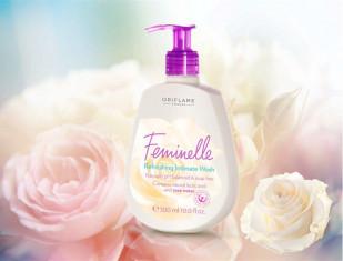 Средство для интимной гигиены с розовой водой «Феминэль»