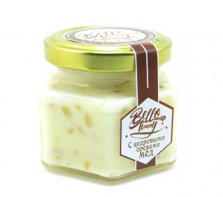 Крем-мёд с кедровыми орехами (100мл)