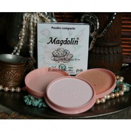 Натуральная жасминовая компактная пудра MAGDOLIN №1