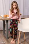 Теплая детская пижама
