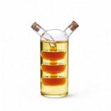 6539 FISSMAN Бутылочка 70/240 мл для масла и уксуса 2-в-1 (с