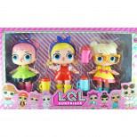 Куклы LQL набор из 3 шт
