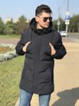 Мужская куртка Е82519-3 темно-синяя