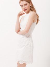 Ажурное платье из хлопка