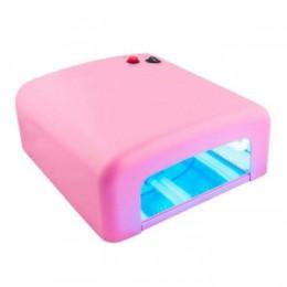 Лампа УФ 36 ватт розовая
