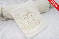 """Комплект постельного белья """"Мишки на луне"""" (3 предмета)"""