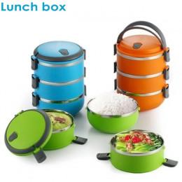 Lunch Box для еды 3 в 1 (нержавеющая сталь)
