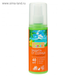 Солнцезащитный спрей Enjoy Summer, SPF 40, 100 мл